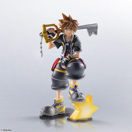 KINGDOM HEARTS II - Static Arts Statue - Sora - 15cm