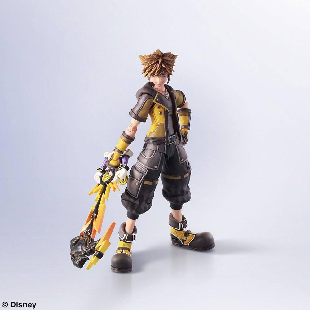 KINGDOM HEARTS III - Bring Arts figurine - Sora Guard Form - 16cm