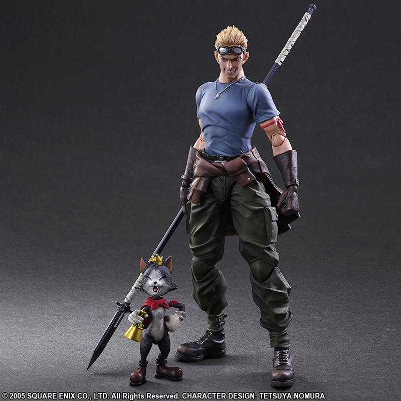 FINAL FANTASY VII Play Arts Kai - Adv Children - Cid Highwing - 27cm
