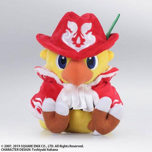 CHOCOBO'S MYSTERY DUNGEON - Peluche Chocobo Red Mage - 18cm