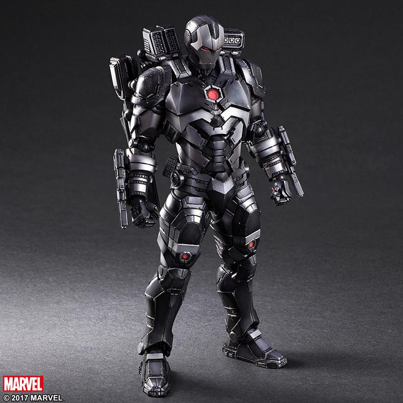 MARVEL COMICS VARIANT - War Machine Play Arts Kai - 27cm