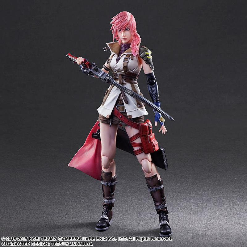 DISSIDIA FINAL FANTASY Play Arts Kai - Lightning - 25cm