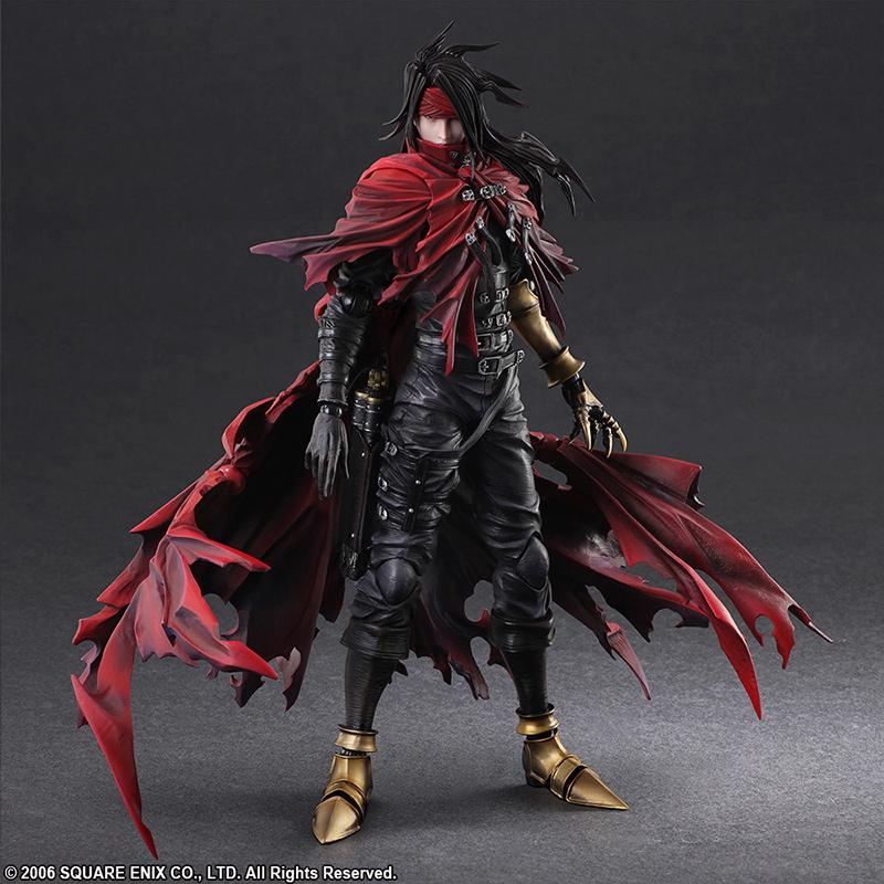 FINAL FANTASY VII Play Arts Kai - Dirge of Cerberus - Vincent - 27cm