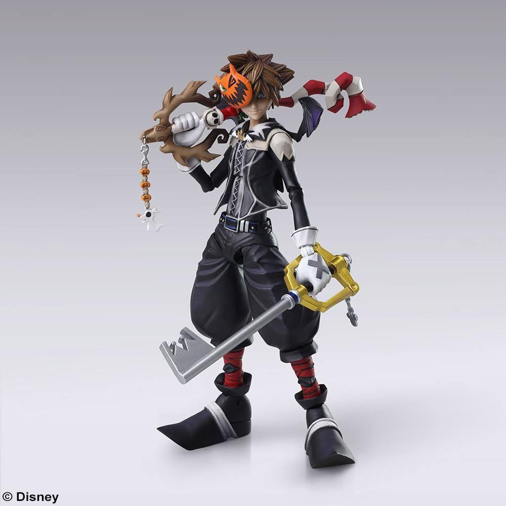 KINGDOM HEARTS III - Bring Arts figurine - Sora Halloween Town - 15cm