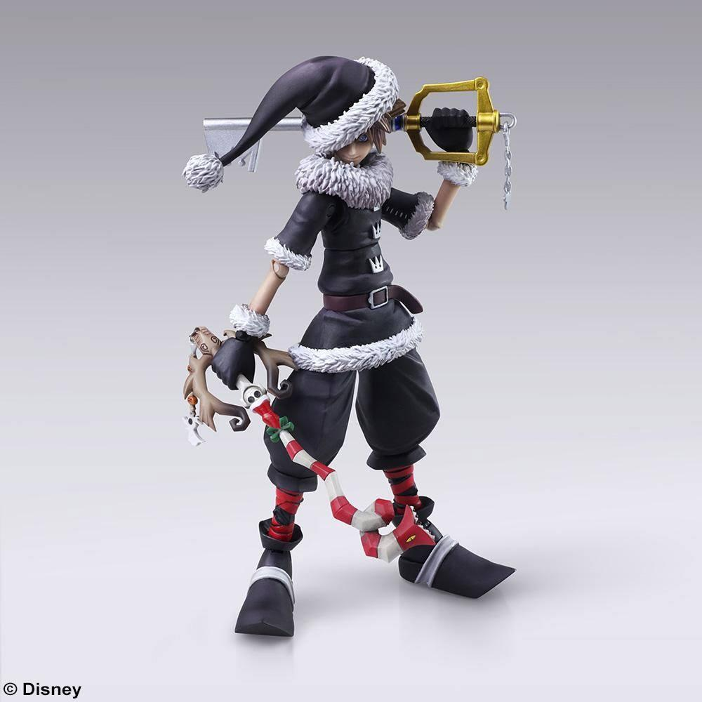 KINGDOM HEARTS III - Bring Arts figurine - Sora Christmas Town - 15cm
