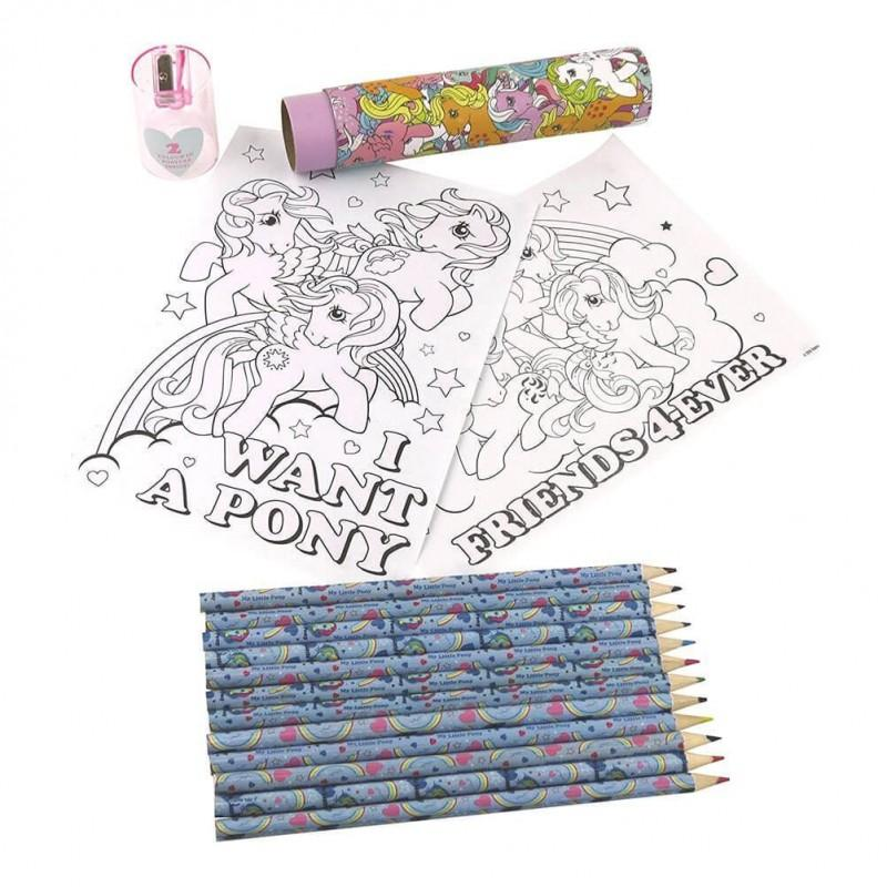 MY LITTLE PONY - Retro Pencil Tube '2 Poster Inside'