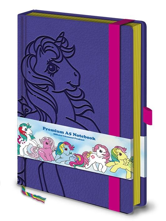MY LITTLE PONY - Notebook A5 Premium - Retro