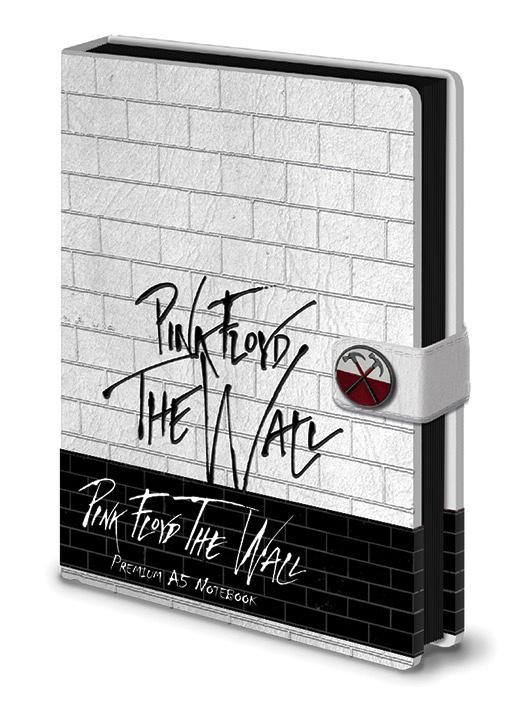 PINK FLOYD - Notebook A5 Premium - The Wall