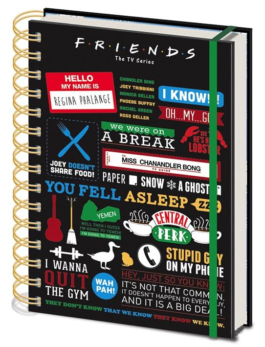 FRIENDS - Notebook A5 - Infographic