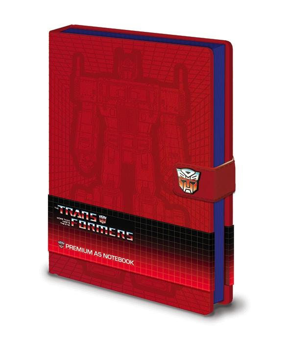 TRANSFORMERS - Notebook A5 Premium - Optimus Prime