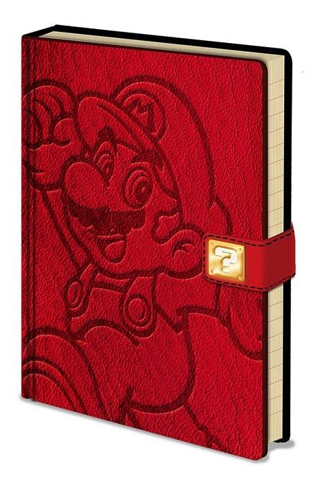 NINTENDO - Notebook A5 Premium - Super Mario Jump