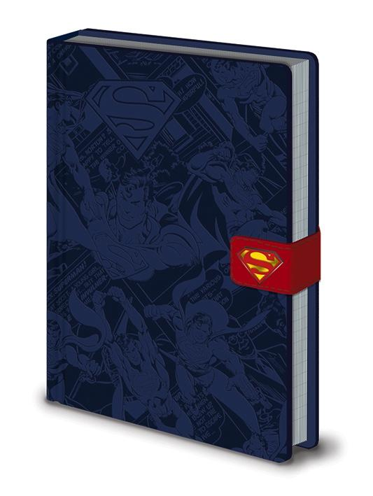 DC COMICS - Notebook A5 Premium - Superman Montage