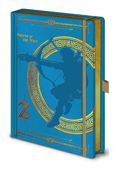 ZELDA - Notebook A5 Premium - Breath of the Wild