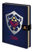 ZELDA - Notebook A5 Premium - Hylian Shield