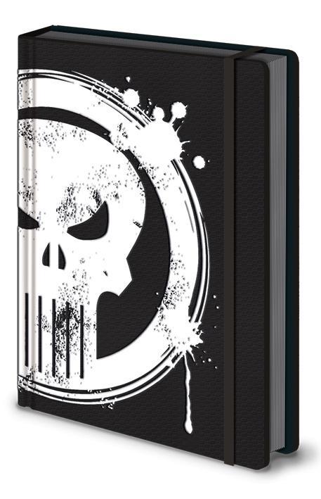 MARVEL - Notebook A5 Premium - Punisher_2