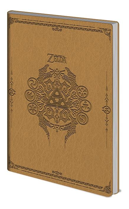 ZELDA - Flexi-Cover Notebook A5 - Sage Symbols
