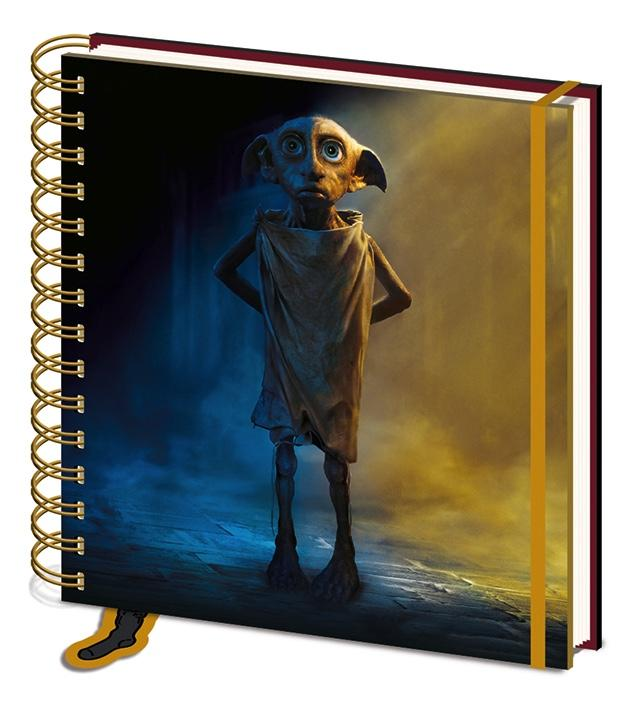 HARRY POTTER - Square Notebook 15x16 - Dobby