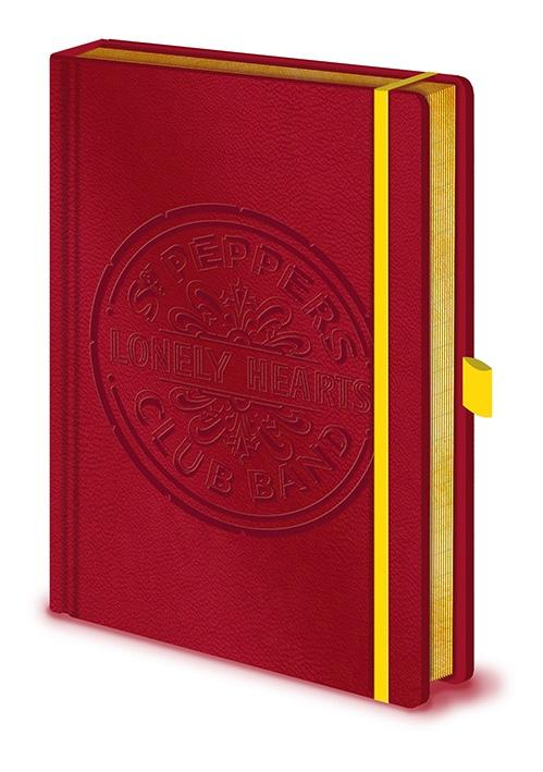 THE BEATLES - Notebook A5 Premium - Sgt. Pepper's Lonely Hearts