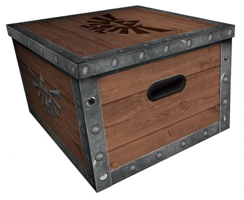 ZELDA - Treasure Chest - Boîte de rangement (36.7 x 36.7 x 23.8cm)