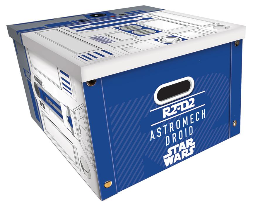 STAR WARS - R2D2 - Boîte de rangement (36.7 x 36.7 x 23.8cm)_1