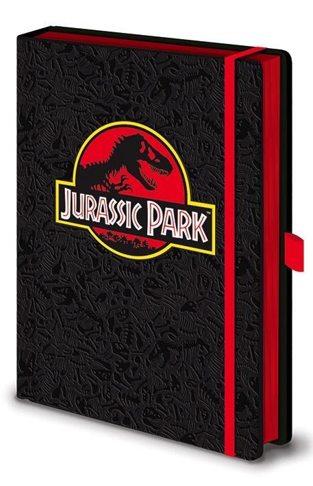 JURASSIC PARK - Notebook A5 Premium - Classic Logo