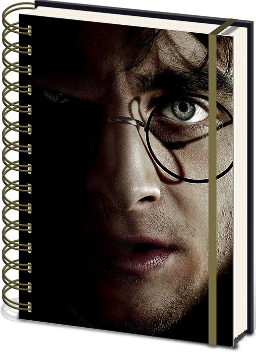 HARRY POTTER - Notebook A5 3D COVER - Harry/Voldemort