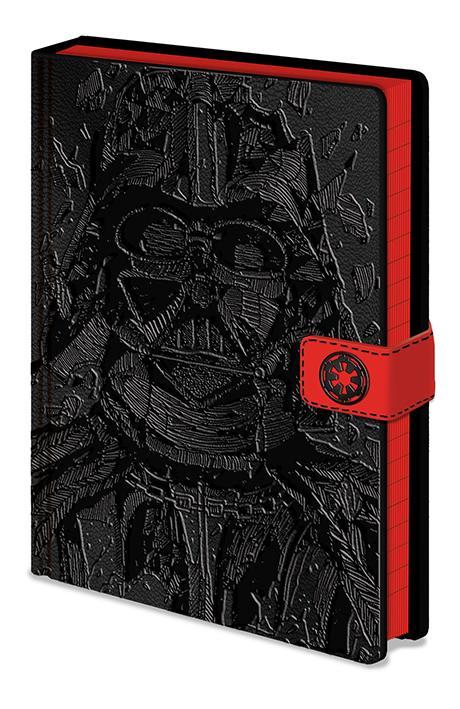 STAR WARS - Notebook A5 Premium - Vader Art