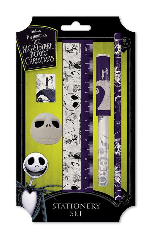 NIGHTMARE BEFORE CHRISTMAS - Premium Sationery Set - Spiral Hill