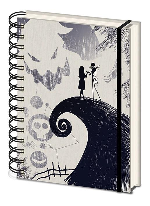 NIGHTMARE BEFORE CHRISTMAS - Notebook A5 -Spiral Hill