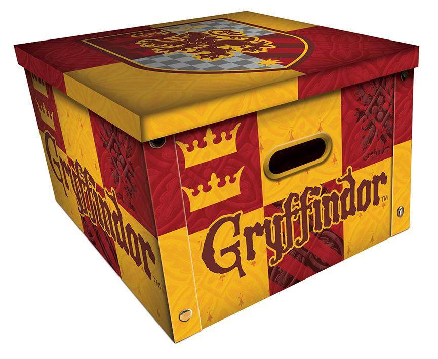 HARRY POTTER - Gryffondor - Boîte de rangement (36.7 x 36.7 x 23.8cm)