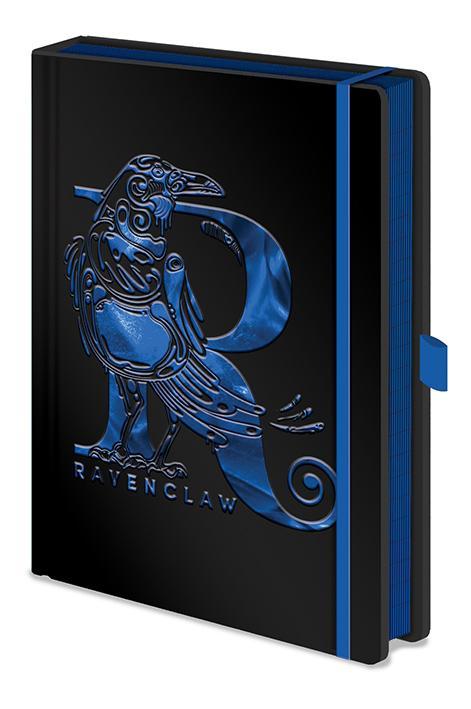 HARRY POTTER - Notebook A5 Premium - Ravenclaw Foil