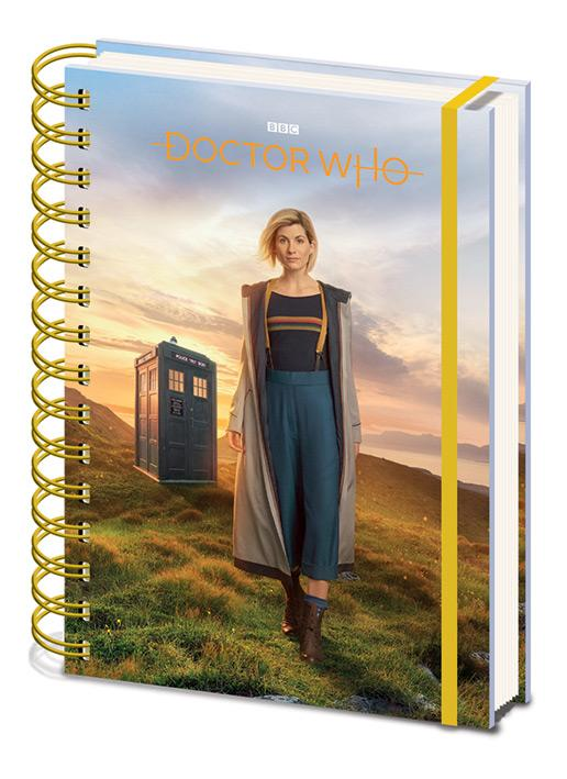 DOCTOR WHO - Notebook A5 - 13th Doctor