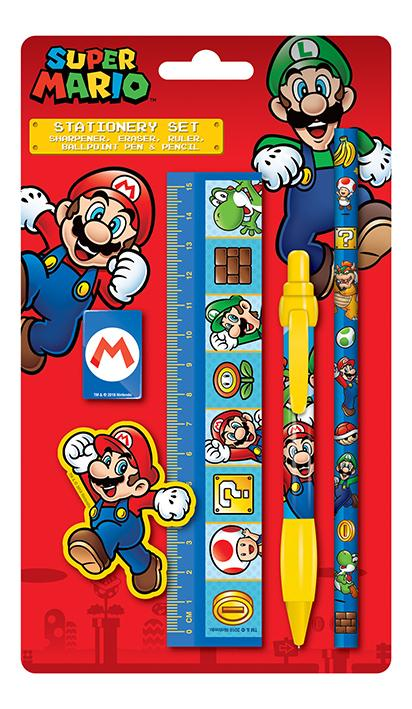 NINTENDO - Stationery Set - Super Mario