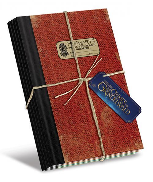 FANTASTIC BEASTS 2- Pack 4 x Exercise Books B5 - Hogwarts