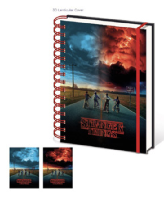 STRANGER THINGS - Lenticular Notebook A5 - Wiro - Mind Flayer