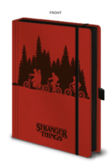 STRANGER THINGS - Notebook A5 Premium - Upside Down