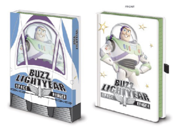 DISNEY - Notebook A5 Premium - Toy Story - Buzz Box_1