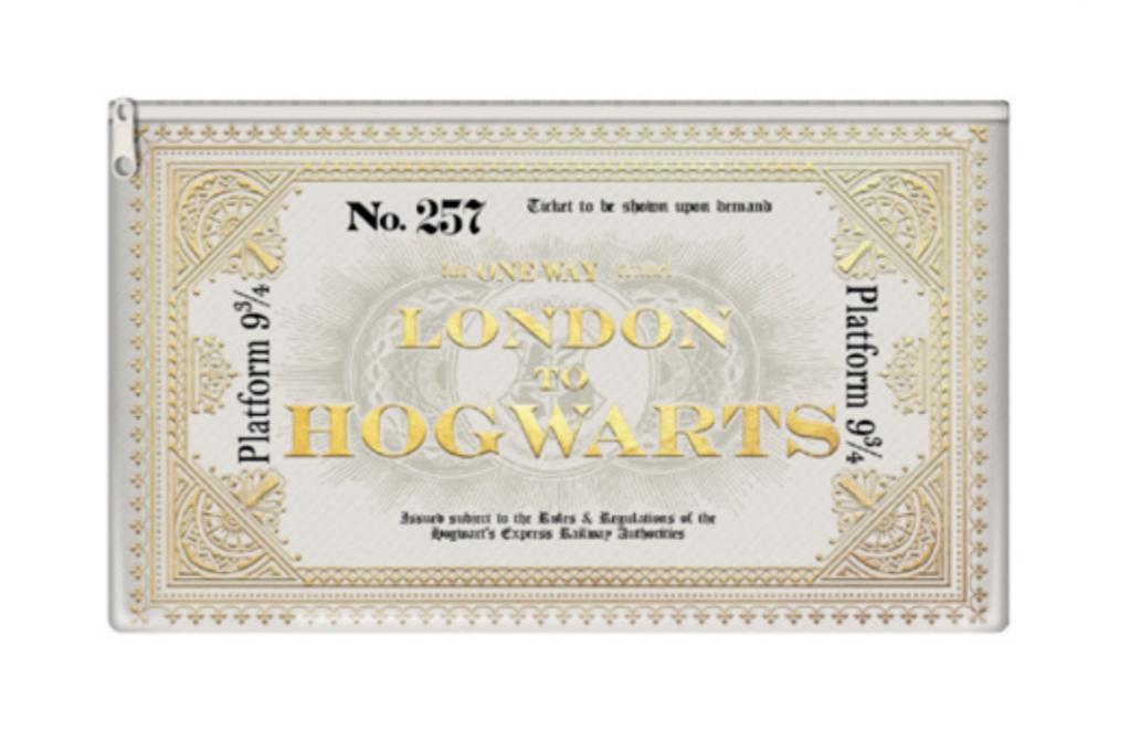 HARRY POTTER - Pencil Case - Hogwarts Express Ticket