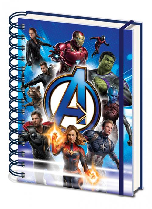 AVENGERS ENDGAME - Notebook A5 - To Action