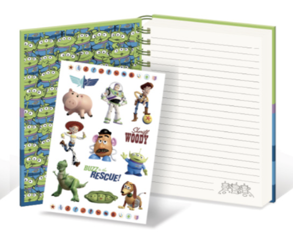 DISNEY - Notebook A5 with Stickers - Toy Story - Alien_2