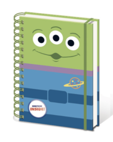 DISNEY - Notebook A5 with Stickers - Toy Story - Alien