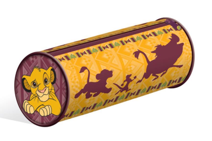 DISNEY - Barrel Pencil Case - Lion King - Hakuna Matata