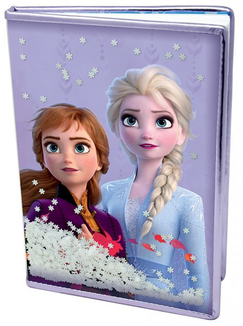 Frozen 2 - Notebook A5 Premium - Snow Sparkles