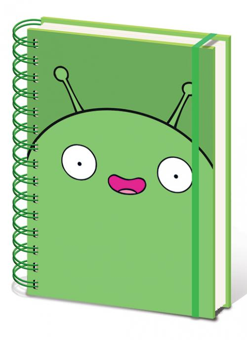 FINAL SPACE - Notebook A5 - Mooncake