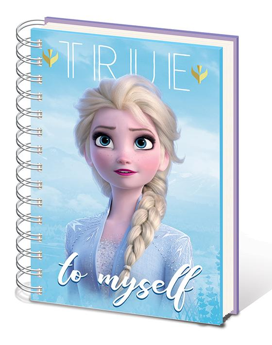 Frozen 2  - Notebook A5 - Sisters