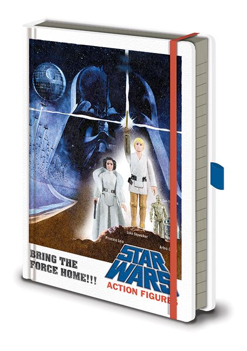 STAR WARS - Action Figures - Notebook A5 Premium
