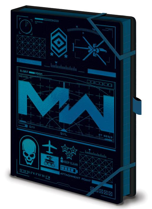 CALL OF DUTY: Modern warfare - Icons - Notebook A5 Premium_1