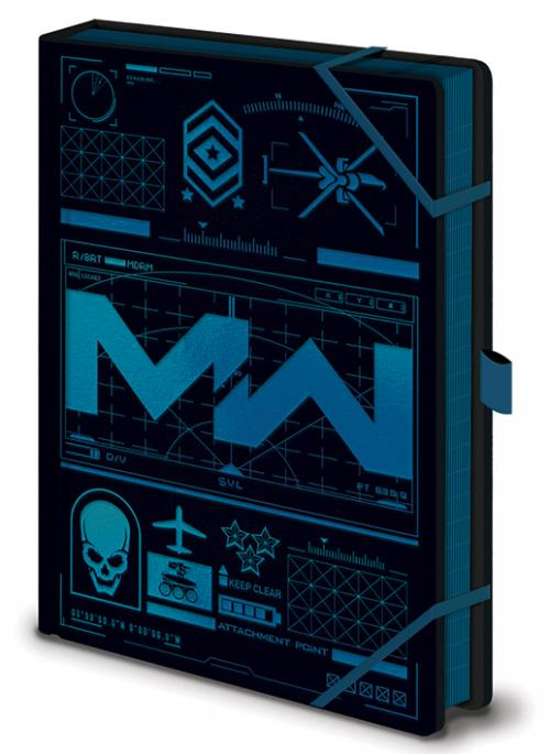 CALL OF DUTY: Modern warfare - Icons - Notebook A5 Premium