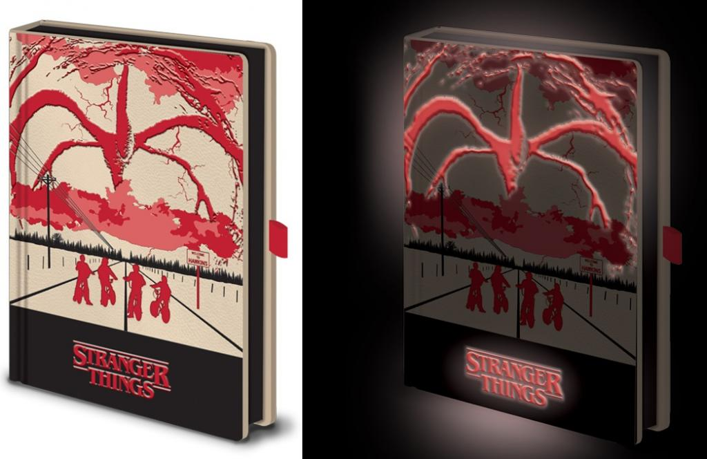 STRANGER THINGS - Mind Flayer - Notebook A5 Lumineux_1