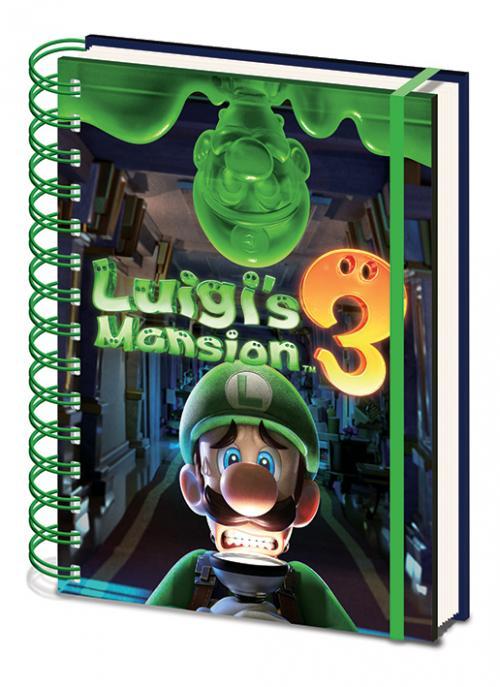 NINTENDO - Notebook A5 - Luigi's Mansion 3 - Gooigi